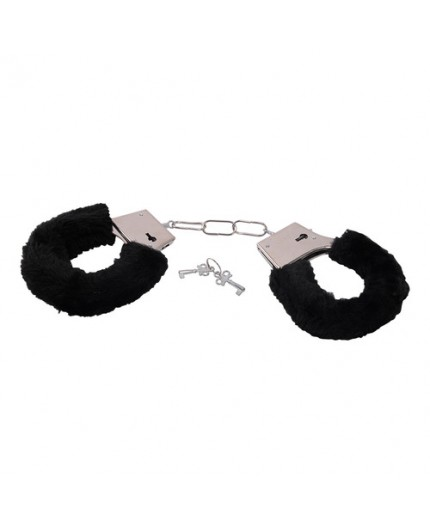 Sexy Shop Online I Trasgressivi - Costrittivo - Furry Handcuffs Black - Toyz4Lovers