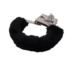 Manette Nere Furry Handcuffs Black - Toyz4Lovers