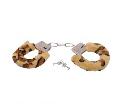 Manette Leopardate Furry Hancuffs Leopardate - Toyz4Lovers