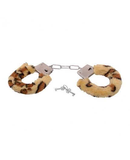 Sexy Shop Online I Trasgressivi - Costrittivo - Furry Hancuffs Leopardate - Toyz4Lovers