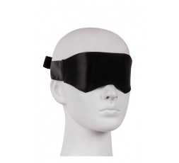 Maschera Nera Velvet Soft Blindfold - Guilty Pleasure