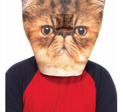 Maschera Da Gatto Foam Angry Cat Masck - Leg Avenue