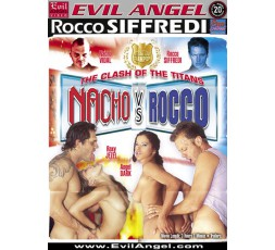 Dvd Etero The Clash Of The Titanes Nacho Vs Rocco - Evil Angel