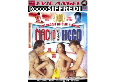 Dvd Etero - The Clash Of The Titanes Nacho Vs Rocco - Evil Angel Films