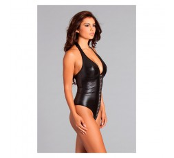 Body Giselle Crotchless Teddy L - Be Wicked