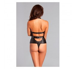 Body Giselle Crotchless Teddy M - Be Wicked