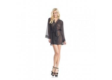 Sexy Lingerie - Vestaglia Julia Sheer Robe - Be Wicked