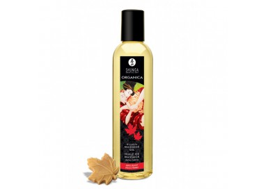 Sexy Shop Online I Trasgressivi - Olio Per Massaggi - Organic Maple Delight 250 ml - Shunga