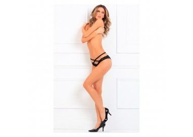 Sexy Lingerie - Oh My Lace Crotchless Panty - Renè Rofè