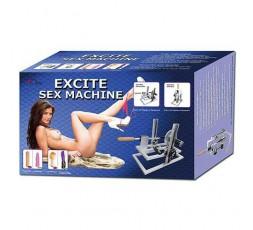 Sexy Shop Online I Trasgressivi Macchina Dell'Amore Elettrica Con Telecomando Vibrante Excite Sex Machine - My World