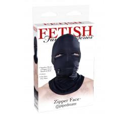 Sexy Shop Online I Trasgressivi - Maschera BDSM - Cappuccio Con Cerniera Nero - Pipedream