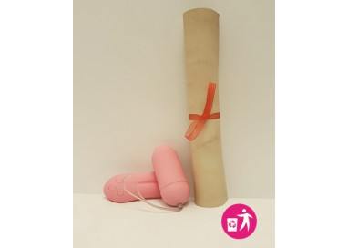 Rottamato Non Funzionante - Ovulo Vibrante Wireless Pleasure Shiver 2.0 Large Rosa - Toyz4Lovers