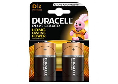 Batteria Per Sex Toys - Plus Power 1.5 V / D2 / LR20 - Duracell