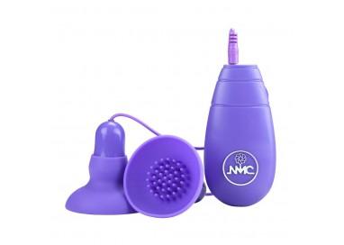 Pompa Vibrante Per Capezzoli - Double Double - NMC