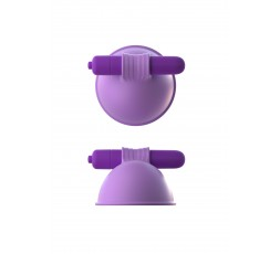 Sexy Shop Online I Trasgressivi Pompe  Vibranti Per Capezzoli -Vibrating Breast Suck-Hers Purple - Pipedream