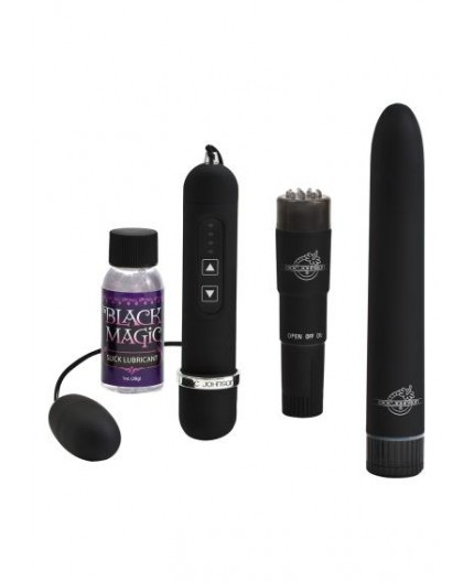 Sexy Shop Online I Trasgressivi Kit Vibrante - Black Magic Pleasure Kit - Doc Johnson