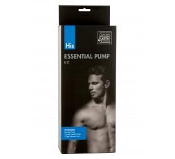 Sexy Shop Online I Trasgressivi - Kit e Set - His Essential Pump Kit Transparent - California Exotic Novelties