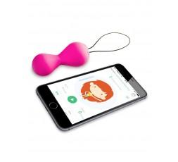 Sexy Shop Online I Trasgressivi Palline Vaginali Vibranti Con App - Gballs 2 Rosa - GVibe
