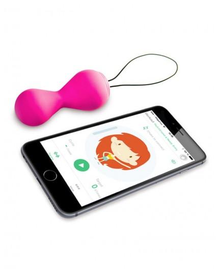 Sexy Shop Online I Trasgressivi Palline Vaginali Vibranti Gballs 2 Rosa con App - GVibe