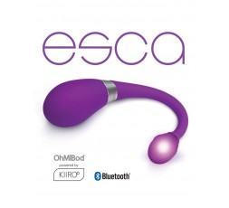 sexy shop online i trasgressivi Ovuli Vibranti Wireless Con App - Esca Viola 18,50 cm - Kiiroo OhMiBod