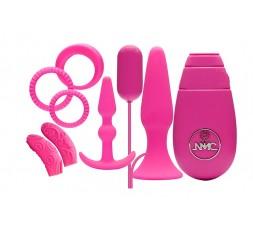 sexy shop online i trasgressivi Kit Vibrante - Flirty Kit Set Pink - NMC