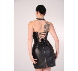 Sexy Shop Online I Trasgressivi - Abbigliamento In Pelle - Corsetto In Pelle Nero - Your Fetish World