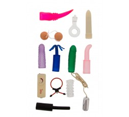 sexy shop online i trasgressivi Kit Vibrante - Sex Toy Kit Multi Colors - Seven Creations