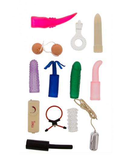 sexy shop online i trasgressivi Kit Vibrante - Sex Toy Kit Multi Colors - Seven Creations