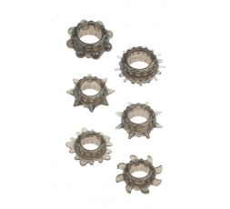 sexy shop online i trasgressivi Kit - Menzstuff 6PC Stretcheable Ring Set - NS Novelties