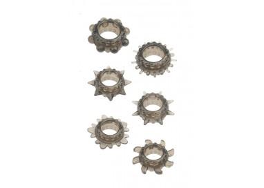 Kit e Set - Menzstuff 6 Pc Stretcheable Ring Set - NS Novelties