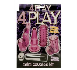Sexy Shop Online I Trasgressivi - Kit e Set Vibrante - 4 Play Couples Kit - Seven Creations