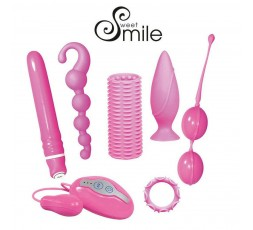 sexy shop online i trasgressivi Kit Vibrante - Smile Kit - Sweet Smile