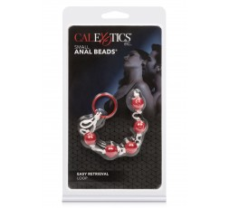 Sexy Shop Online I Trasgressivi - Palline Anali - Small Anal Beads Red - California Exotics