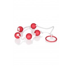 sexy shop online i trasgressivi Palline Anali - Small Anal Beads Red - California Exotics