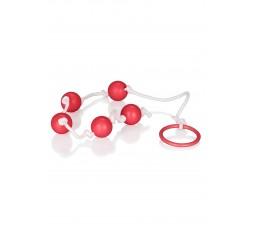 Sexy Shop Online I Trasgressivi - Palline Anali - Small Anal Beads Red - California Exotic Novelties