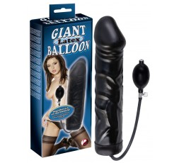 Sexy Shop Online I Trasgressivi - Dildo Anale Gonfiabile - Black Giant Latex Balloon - You2Toys