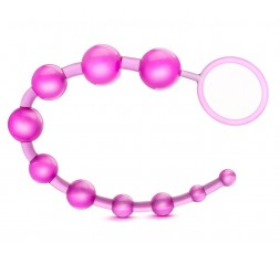 sexy shop online i trasgressivi Palline Anali - B Yours Basic Beads Pink - Blush