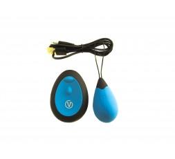 sexy shop online i trasgressivi Ovulo Vibrante Wireless - Remote Control Egg Ricaricabile G1 Azzurro - Virgite