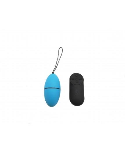 Sexy Shop Online I Trasgressivi - Ovulo Vibrante Wireless - Remote Control Egg G2 Azzurro - Virgite