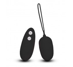 sexy shop online i trasgressivi Ovulo Vibrante Wireless - Ultra Seven Remote Control Egg Black - Seven Creations