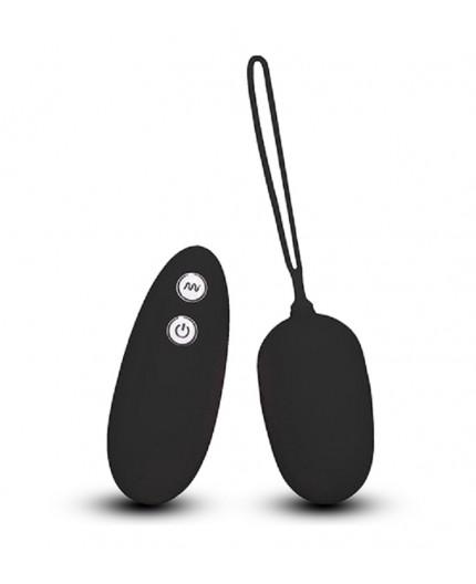 sexy shop online i trasgressivi Ovulo Vibrante Wireless - Ultra Seven Remote Control Egg Black - Seven Creations