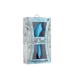 Sexy Shop Online I Trasgressivi - Massaggiatore Magic Wand - The Mademoiselle Recharge C Wand Blue - Closet Collection