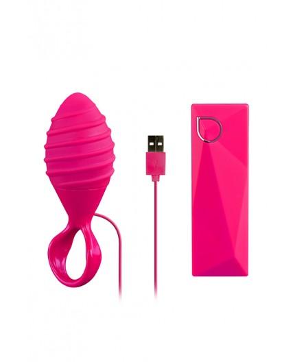 Sexy Shop Online I Trasgressivi - Plug e Dildo Anale Vibrante - Abia Hebe Pink - Abia