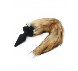 Sexy Shop Online I Trasgressivi - Plug Con Coda - Silicone Butt Plug With Fox Tail - Rimba