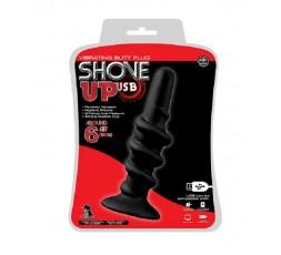 Sexy Shop Online I Trasgressivi - Plug Anale Vibrante - Shove Up 6 Inch Vibrating Butt Plug Black - NMC