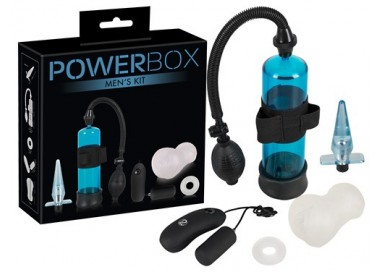 Kit e Set Vibrante - Power Box Men Kit - You2Toys