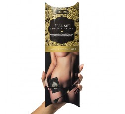 Sexy Shop Online I Trasgressivi - Kit e Set Per Coppia - KamaSutra Feel Me Play Set Giallo - KamaSutra