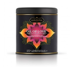 Sexy Shop Online I Trasgressivi - Kit e Set Per Coppia - Oil of Love The Collection Set Assortment - KamaSutra