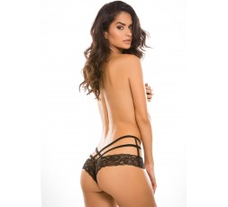 Sexy Shop Online I Trasgressivi - Sexy Lingerie - Tangled Ecstasy Panty Black - Allure
