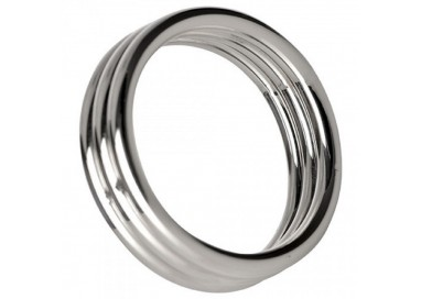 Anello Fallico - Echo 2 Inch Steel Triple Cock Ring - Play Hard